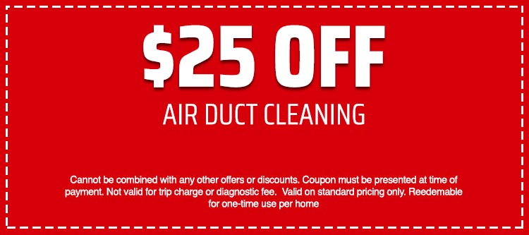 discount on Air Duct Cleaning