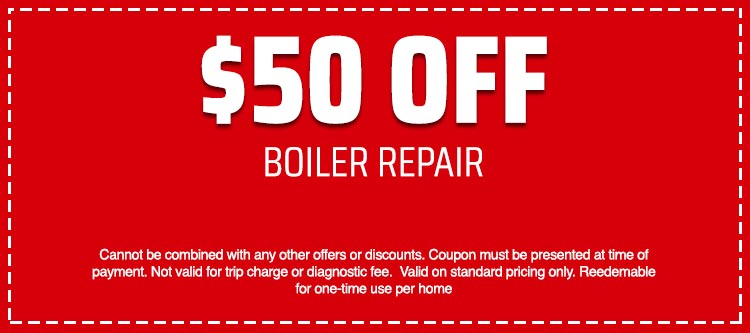 discount on Boiler Repair
