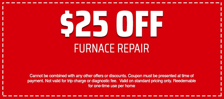 discount on Furnace Repair