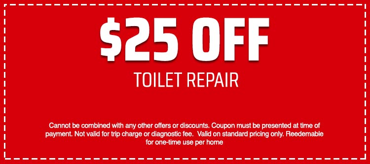 discount on Toilet Repair