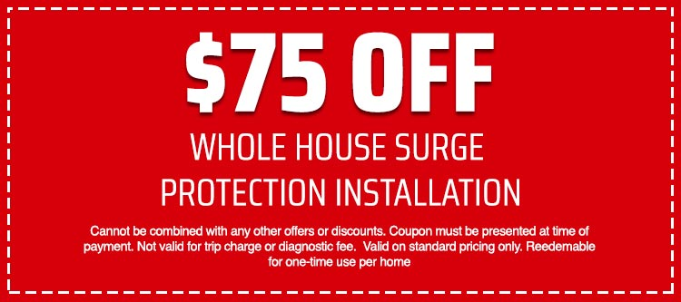 discount on Whole House Surge Protection Installation